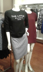 mannequin from Banana Republic