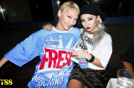 Soo Joo Park and CL
