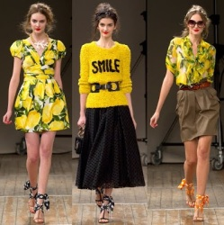 Moschino Cheap Chic Milan Fashion Week Spring Summer 2011 2