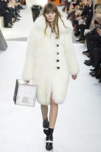 lv furry coat