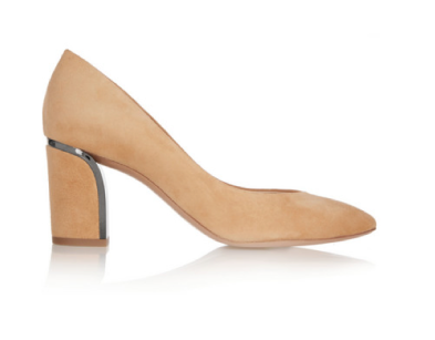 Chloé suede pumps 550€