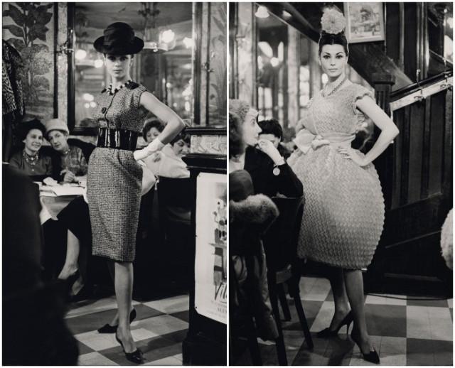 chloc3a9-desfile-cafc3a9-de-flore-paris-1956