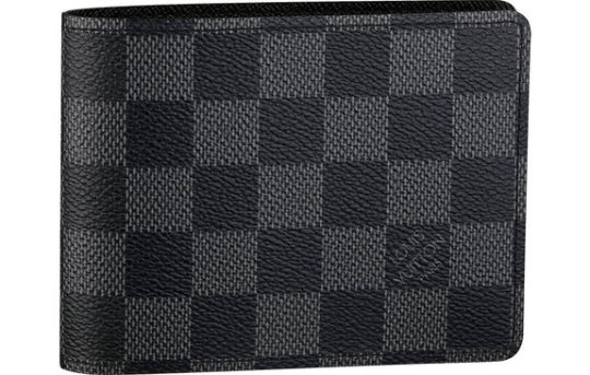Damier Graphite canvas wallet