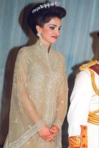 durante-la-coronacion-de-rania-de-jordania-en-1999