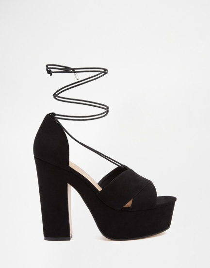 Asos HEATH platform sandals 48,99€