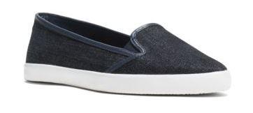 Olive denim sneakers - MK (99$)