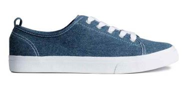Denim sneakers - H&M (19.99€)